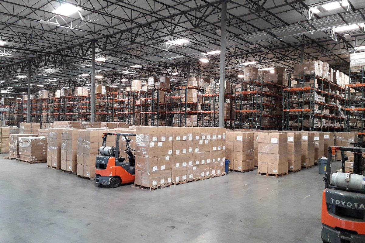 Warehouse Home Page